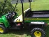 John Deere cart - painted with Scorpion high solids bedliner - Image 1