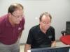 Dennis with Wayne Anderson