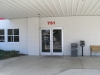 Entrance to collision center
